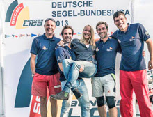 J/70 German sailing teams at Friedrichshafen, Lake Constance