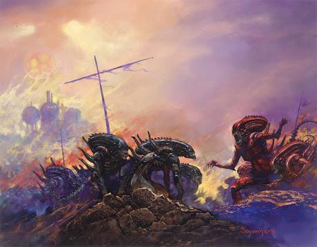 Alien Genocide by Arthur Suydam