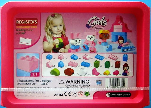 Đồ chơi Xếp hình Regis 6809 - Thú cưng bao gồm 40 mảnh ghép cỡ vừa phù hợp với các bé gái từ 3 đến 6 tuổi