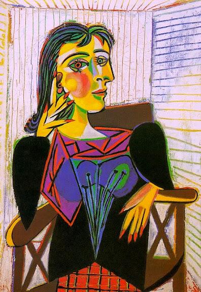 Pablo Picasso - Portrait of Dora Maar 1937