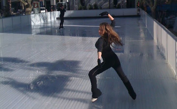 ice skating in garema place