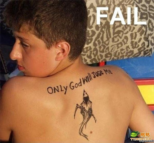 spelling mistake tattoos