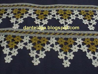 motifli havlu kenarı
