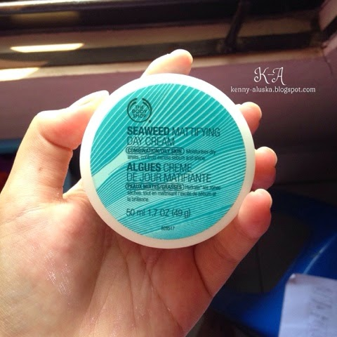 Beauty Review: Seaweed Mattifying Day Cream The Body Shop (Indonesia)