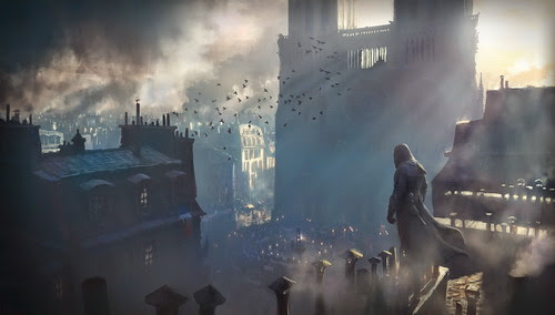 """""""Super Soi"""" nhà thờ Đức Bà Paris rộng lớn trong Assassin's Creed Unity"""