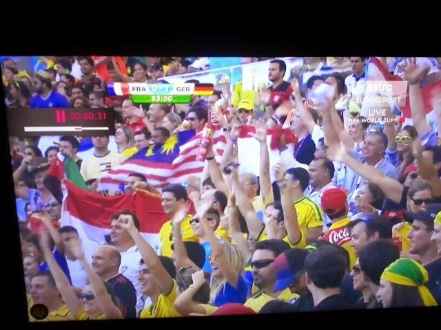 Kelibat Bendera Malaysia Di Piala Dunia 2014