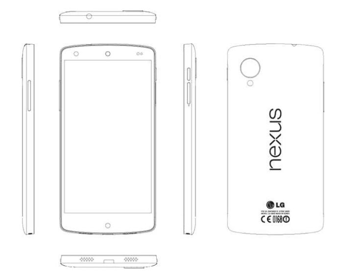 Nexus 5 Diagramm