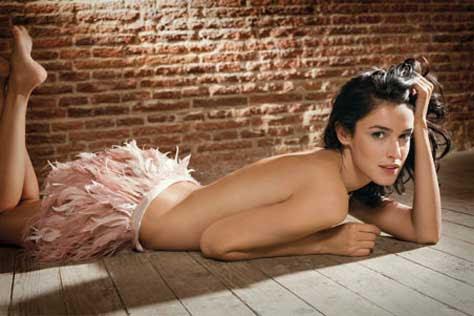 Blanca Romero, sensual