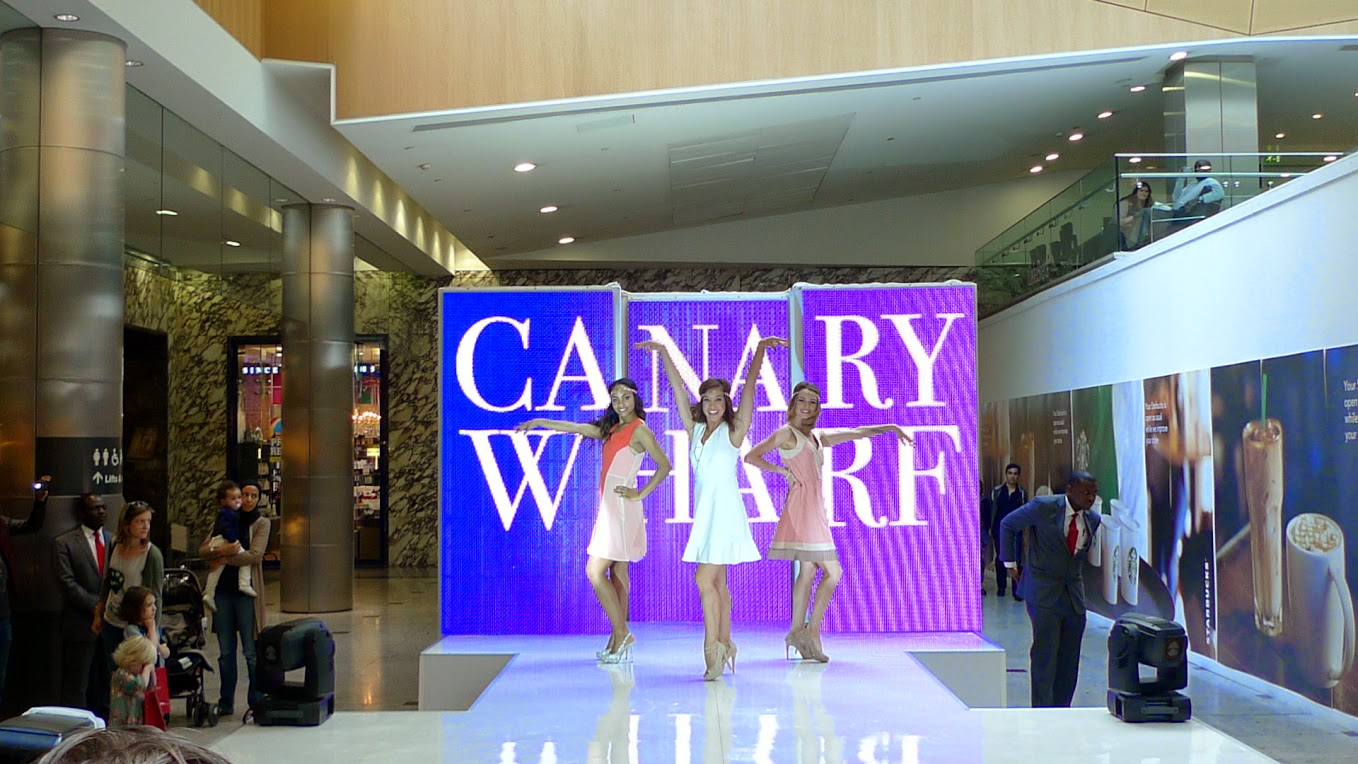 Canary Wharf Fashion Show Ends