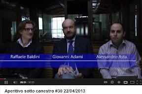 Trieste: gran finale ad Aperitivo, il GM Bocchini e il Presidente FIP Adami