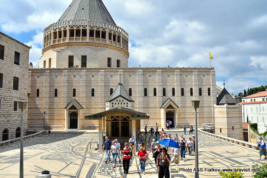 Экскурсия в Базилике Благовещения в Назарете с гидом Светланой Фиалковой.