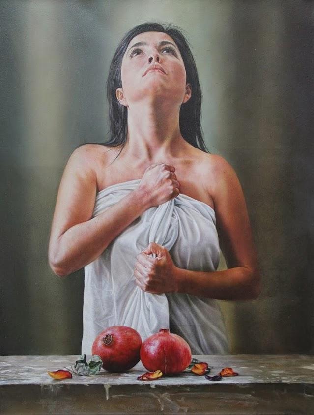 Perséfone pintura de Alberto Penagos