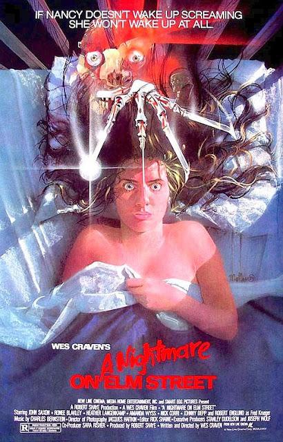 Pesadilla en Elm Street que pelicula ver en la noche de Halloween, top lista peliculas de miedo, a nightmare on Elm street