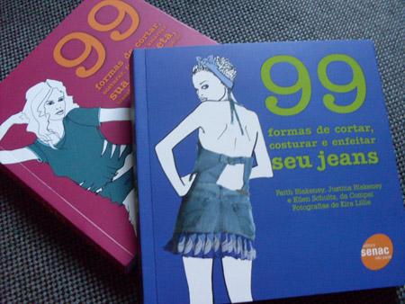 99 Formas de Cortar, Costurar... livros do Senac sobre customização