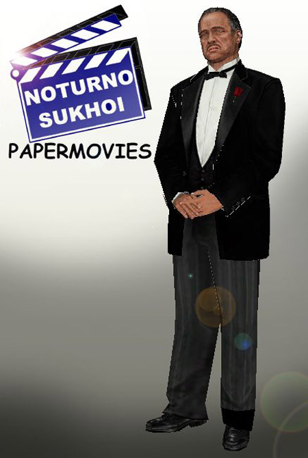 The Godfather Papercraft Don Vito Corleone