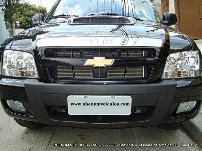 Chevrolet S10 Cabine Dupla 2010 2.4 Flex Advantage - frente