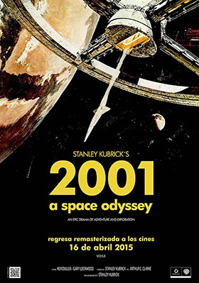 '2001. Una odisea en el espacio' vuelve a la pantalla grande el 16 de abril