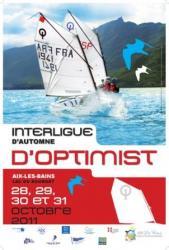 Aix-les-Bains SILA 2011 OPTIMIST voile régate interligue automne CNVA Generation Opti