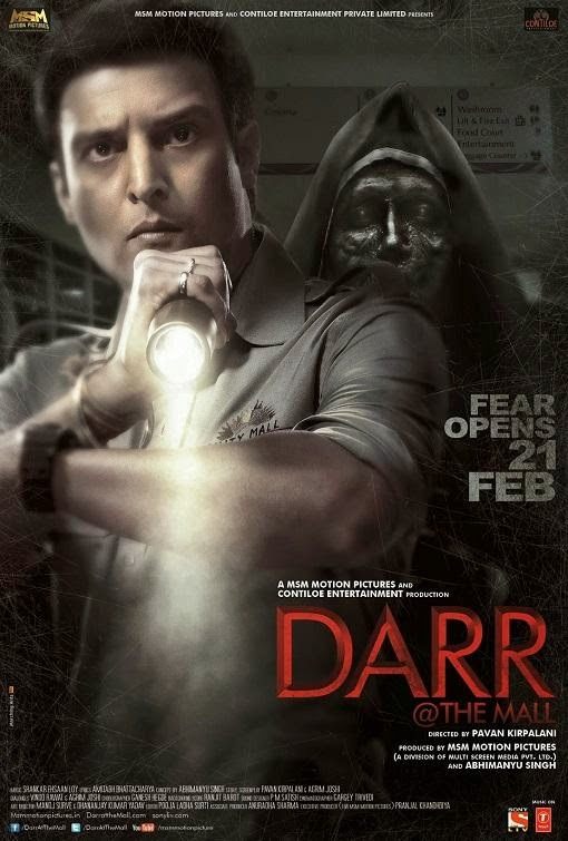 Poster Of Hindi Movie Darr @ The Mall (2014) Free Download Full New Hindi Movie Watch Online At Alldownloads4u.Com