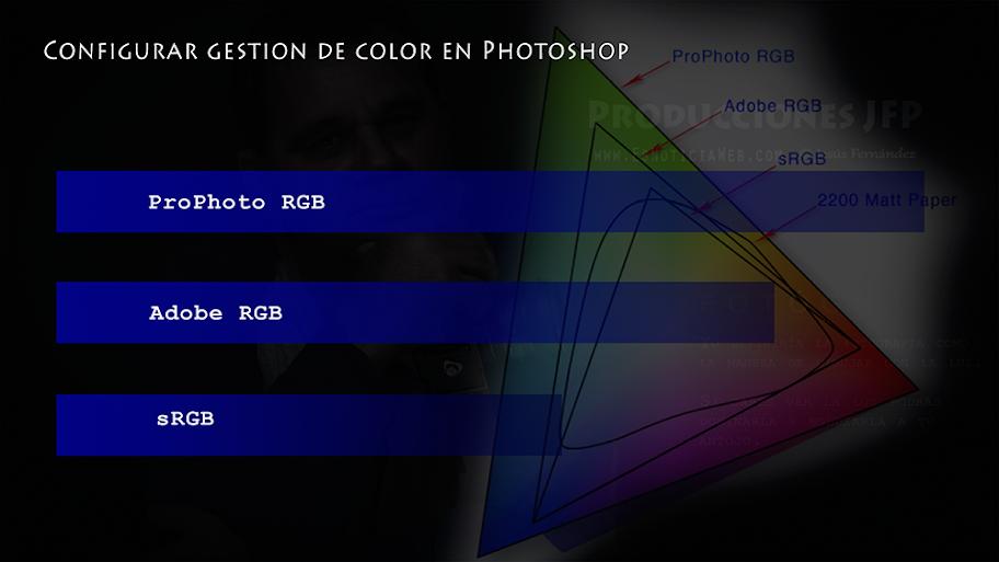 Configurar gestion de color en Photoshop