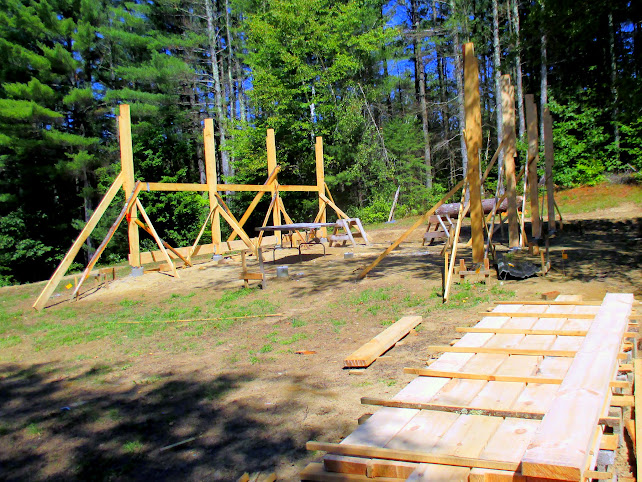 how to build a sawmill shed