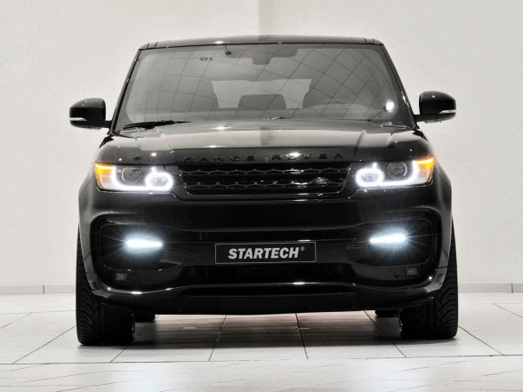 2014 Startech Range Rover Sport - Front Lights On