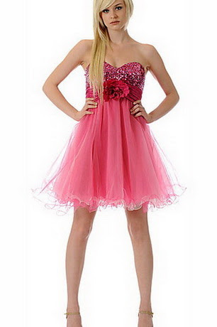 pinke abendkleider - rosa kleid