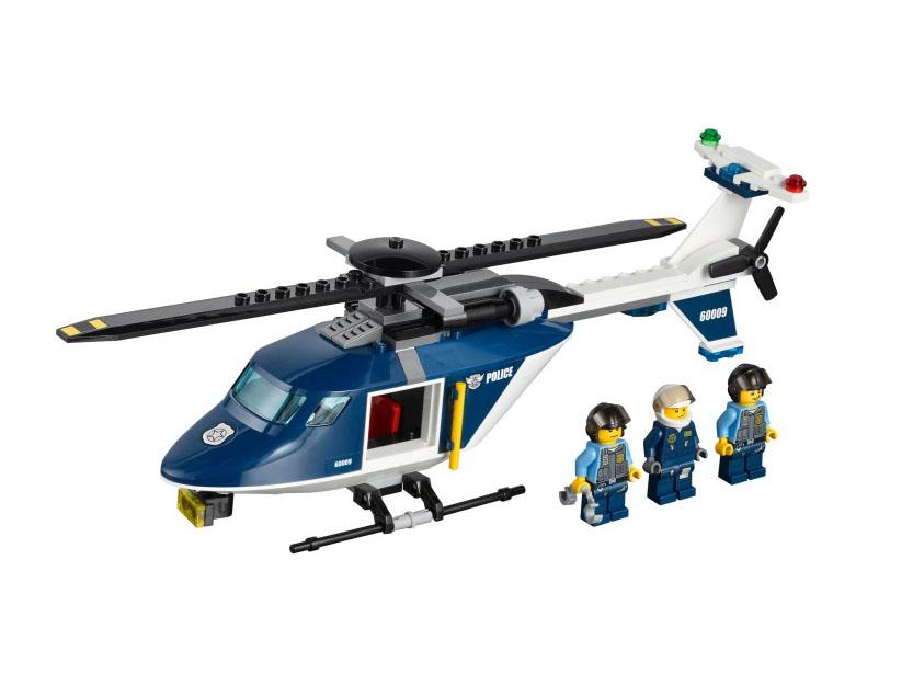 60009 レゴ ポリスヘリコプターのドロボウついせき