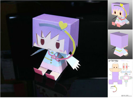 Touhou Project Graphig Satori Paper Toy