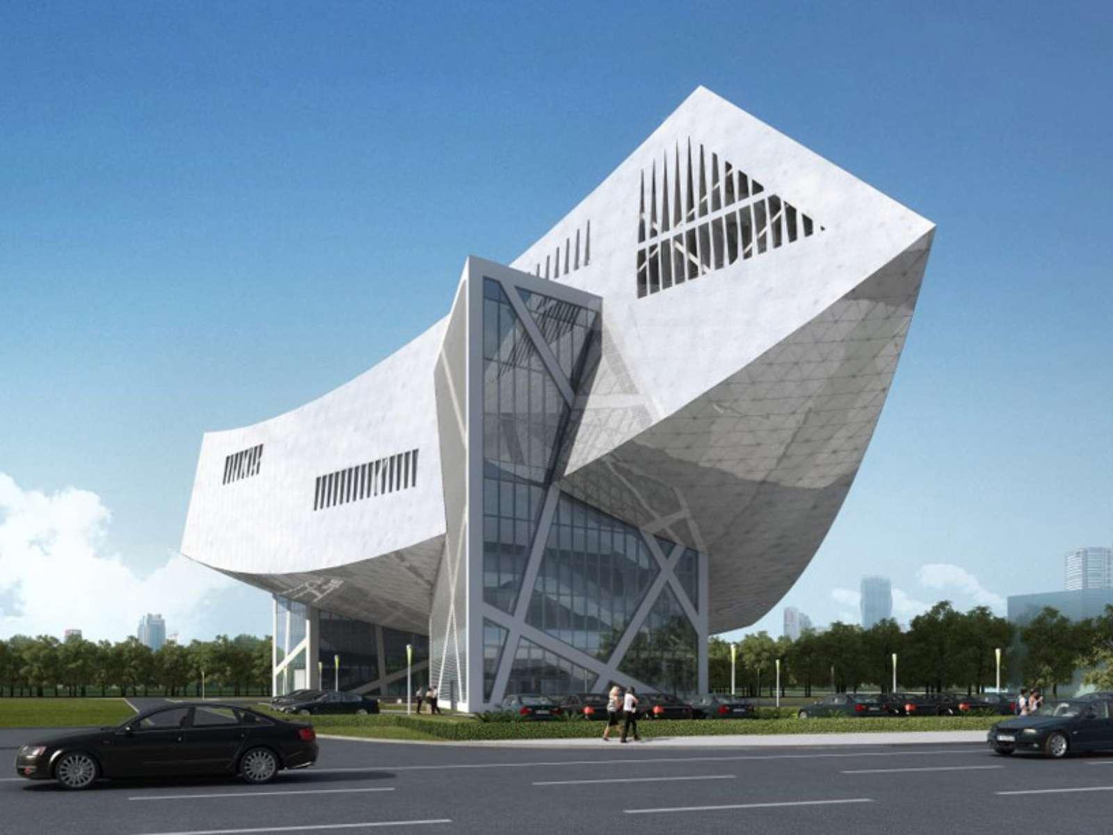 Wuhan, Hubei, Cina: Zhang Zhidong And Modern Industrial Museum by Daniel Libeskind