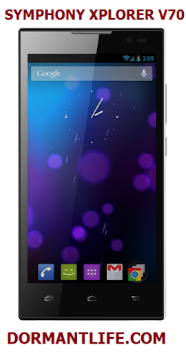 V70%2520front - Symphony Xplorer V70: Android Specifications And Price