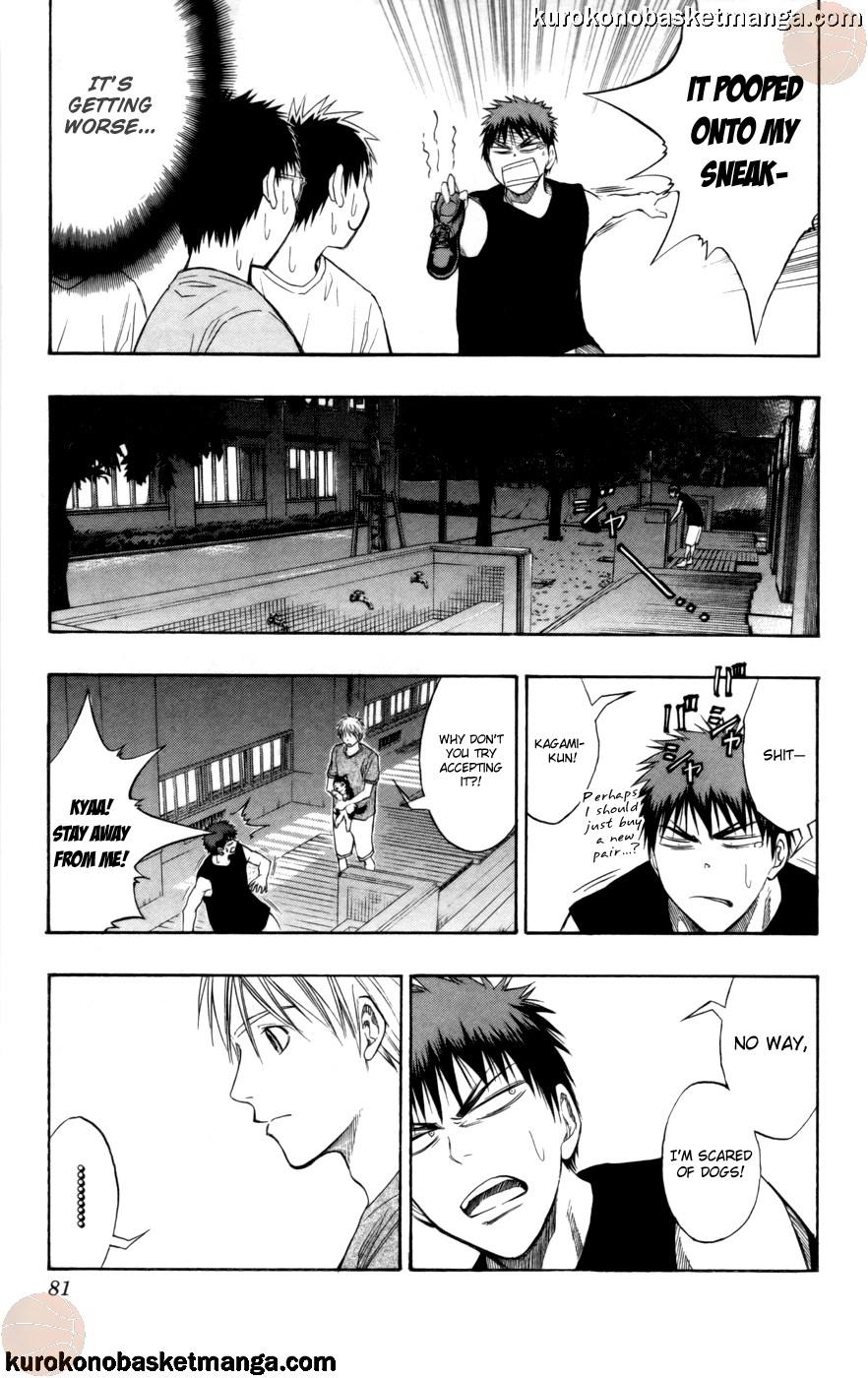 Kuroko no Basket Manga Chapter 74 - Image 15