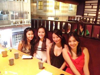 Girls Night <3 Vivian, Me, Mandy & Jie
