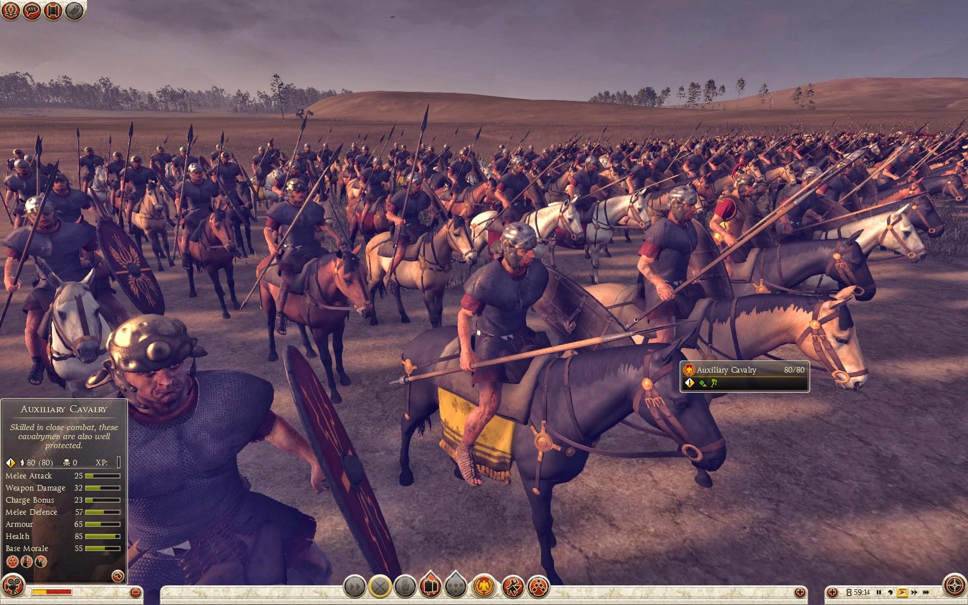 Auxiliary Numidian Cavalry Auxiliary Cavalry