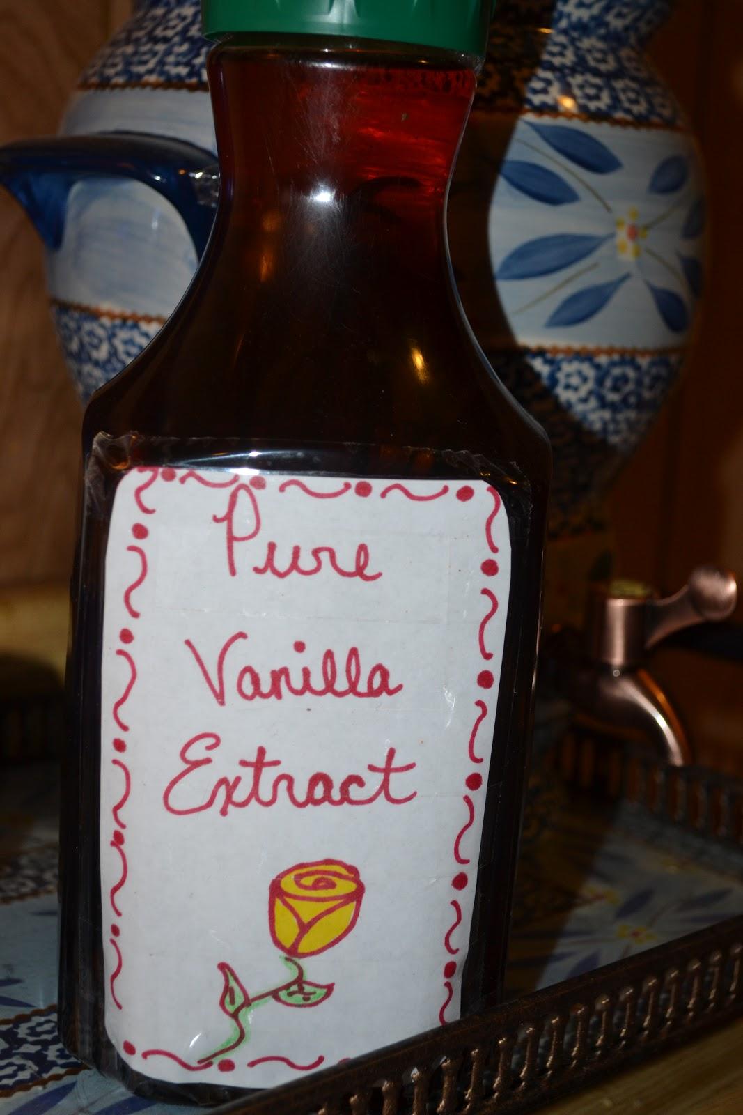Homemade Vanilla Extract Mrs Happy Homemaker