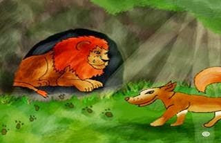 El perro que perseguía al león