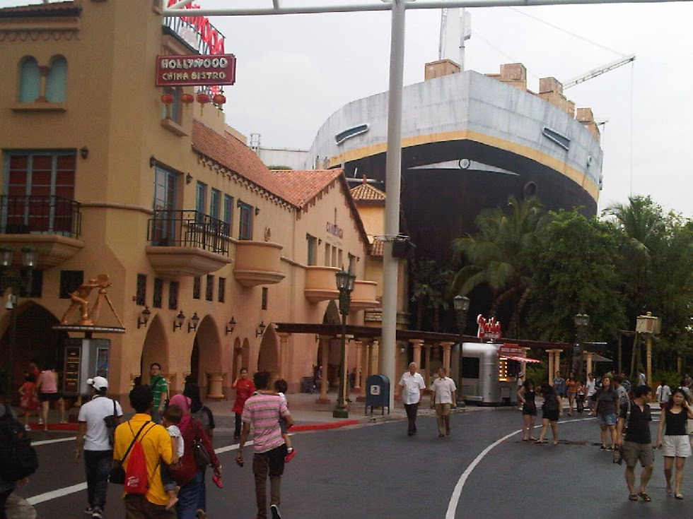 Singapore Universal Studio Hollywood Universal Studio Singapore