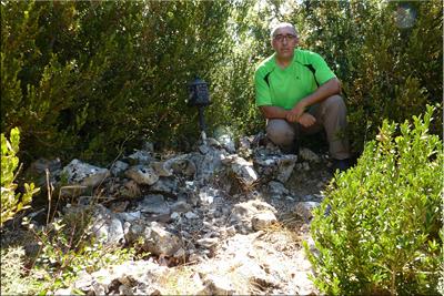 Semendia mendiaren gailurra 1.040 m. -  2012ko abuztuaren 26an