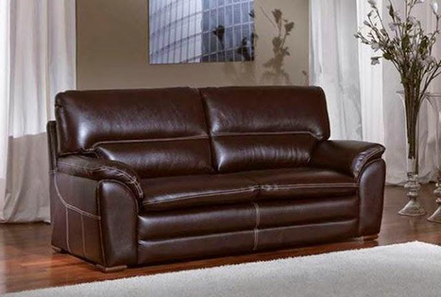 adopte un canapé en cuir de buffle