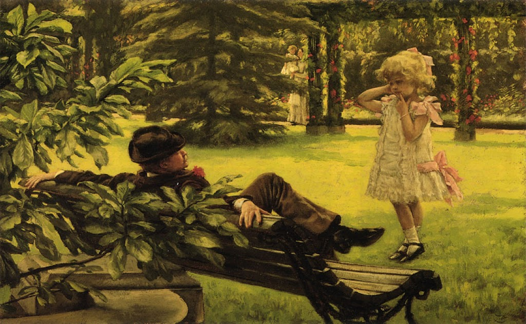 James Tissot - Uncle Fred, 1879-1880
