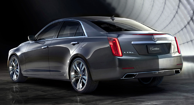 Cadillac сразиться с немецкими седанами