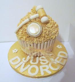 Just Divorced Cake