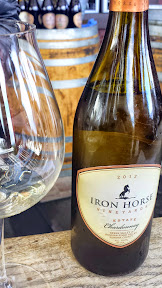 2012 Iron Horse Vineyards Estate Chardonnay