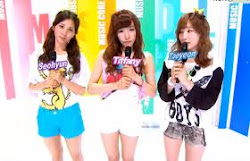 MBC Music Core Girl Cuts