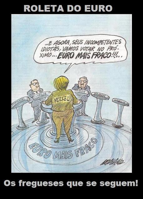 """Roleta do Euro: """"O Euro Mais Fraco"""""""