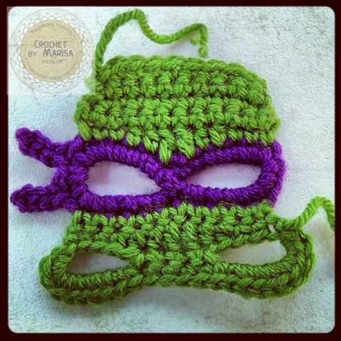 Amigurumi Tortuga Ninja Paso A Paso : Crochet by Marisa