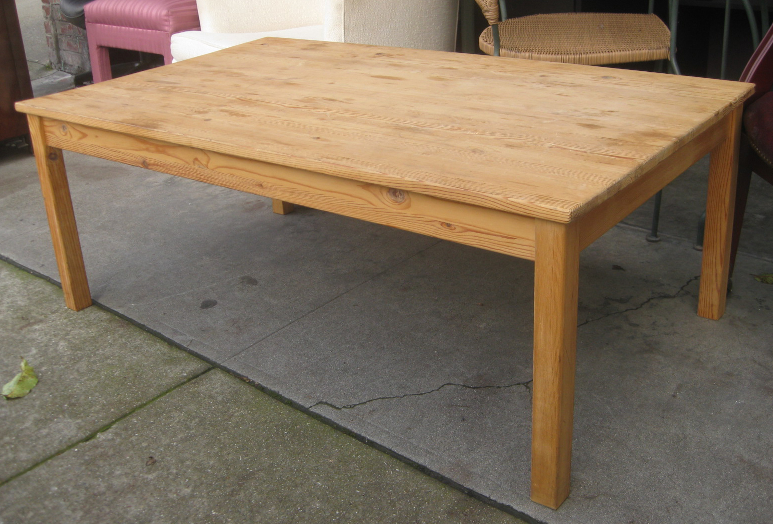 Sold Pine Coffee Table 25