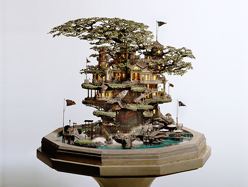 Bonzai-tree-castle-by-Takanori-Aiba 5