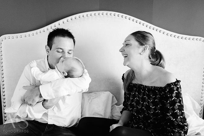 retratos de bebes y familia
