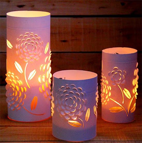 Iluminação romântica
